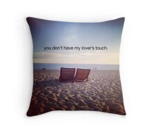 lover's touch Throw Pillow