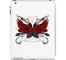 Guns and Roses RED iPad Case/Skin