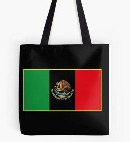 Afro Mexican Flag Tote Bag