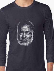 Old Man and the Pixels Long Sleeve T-Shirt