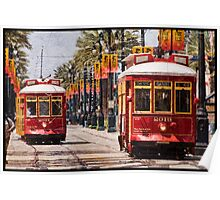 Return of the Red Streetcars Poster