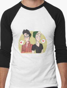 Punk Drarry Love Men's Baseball ¾ T-Shirt