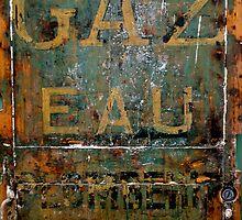 Gaz Eau by Britland Tracy