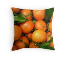 Clementine - Parisian Market Throw Pillow