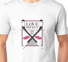 Love Hockey-Baby Girl Unisex T-Shirt