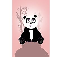 Panda Girl Photographic Print