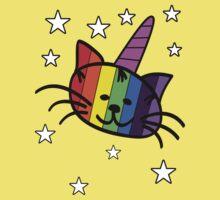 Rainbow Unicorn Cat Unikitty T Shirt One Piece - Short Sleeve