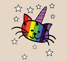 Rainbow Unicorn Cat Unikitty T Shirt Womens Fitted T-Shirt