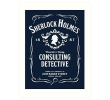 World's Only Consulting Detective Art Print