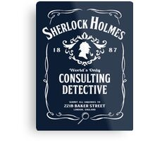 World's Only Consulting Detective Metal Print