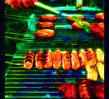 Hot Links, Burgers and Baby Back Ribs by David Rozansky