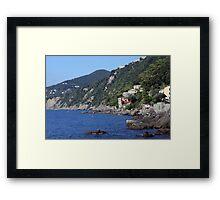 Cinque Terre, Italia Framed Print