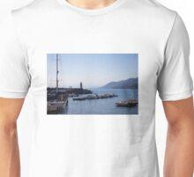 Along the sea wall Unisex T-Shirt