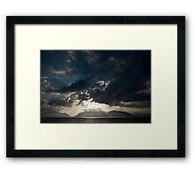 Sunset on Loch Linnhe Framed Print