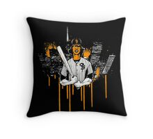 San Francisco Baseball Furies Throw Pillow