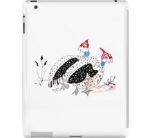 Helmeted Guineafowl  iPad Case/Skin