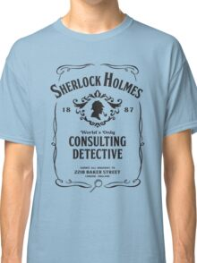 World's Only Consulting Detective (BW) Classic T-Shirt