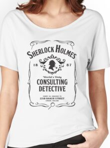 World's Only Consulting Detective (BW) Women's Relaxed Fit T-Shirt