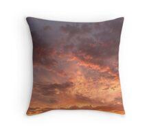 ethereal sky Throw Pillow