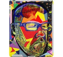 Silent Man in colour iPad Case/Skin