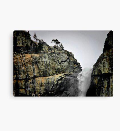 Top O' the Falls Canvas Print