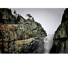 Top O' the Falls Photographic Print