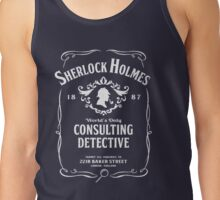 World's Only Consulting Detective Tank Top