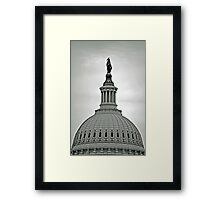 Capitol Dome Framed Print
