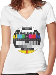 Retro Geek Chic - Headcase Women's Fitted V-Neck T-Shirt