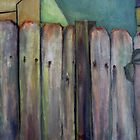 Fence Line by Peter Johnson