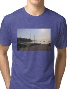 On the beach Tri-blend T-Shirt