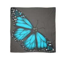 Butterfly Scarf - blue Scarf