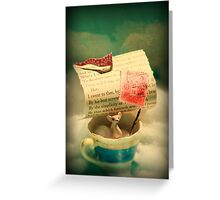 The Little Dreamer Greeting Card