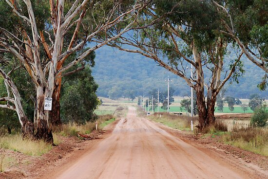 The Road to Glen Davis NSW Australia by Phil Woodman