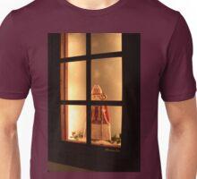 Little Antique Santa in the Window Unisex T-Shirt