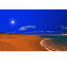 Dunes World - Hot n' Cold Photographic Print