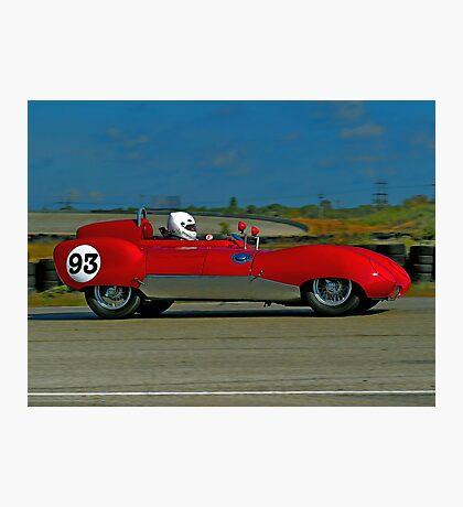 Vintage Auto Racer Photographic Print