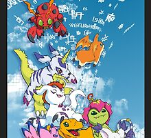 Digimon Adventure Partners by Jelecy