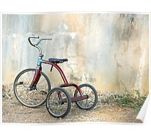 Old Child's Tricycle... Poster