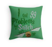 Serpent Problems Throw Pillow