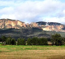 Capertee Valley NSW Australia by Bev Woodman