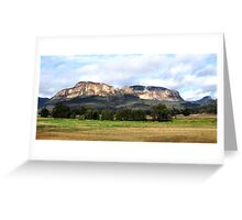 Capertee Valley NSW Australia Greeting Card