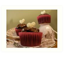 Tea Cakes Art Print