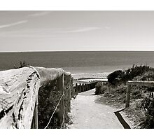 Dune Descent Photographic Print
