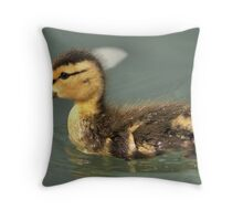 Little Mallard  Throw Pillow