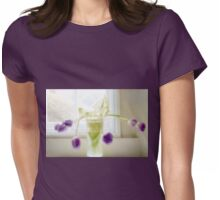 Soft Tulips............. Womens Fitted T-Shirt