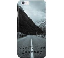 Start the Journey iPhone Case/Skin