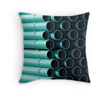 Pipe Patterns Throw Pillow