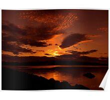 Auburn Skies Poster