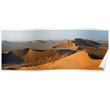 The Panoramic Empty Quarter  Poster